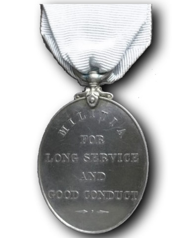 Militia Long Service & Good Conduct Medal