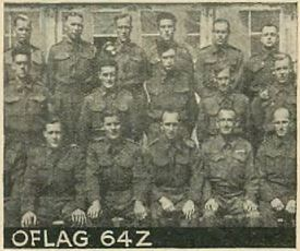 Prisoners of War during WW2 held at OFLAG 64