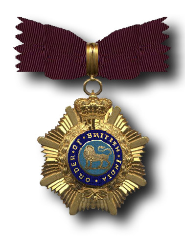 Order of British India (First & Second Class)