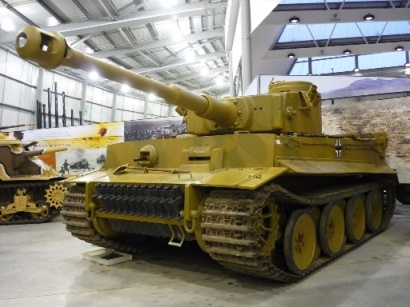 Tiger Tank 131, the worlds only working Tiger Tank from Bovington Tank museum