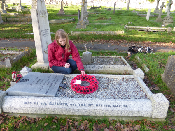St Michaels Cemetary, Monkton Combe, where Harry Patch lies