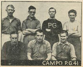 Prisoners of War held in Italy - Camp P.G.41 Montalbo