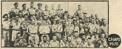Prisoners of War held in Italy at Campo P.G. 70