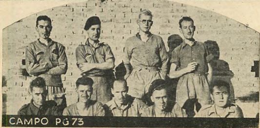 Prisoners of War held at Campo P.G. 73 Carpi (Modena)