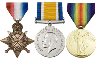 Pip, Squeak and Wilfred - The 1914-15 Star, British War Medal and the Victory Medal