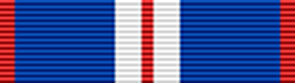 Queen Elizabeth II Golden Jubilee Medal (2002) ribbon