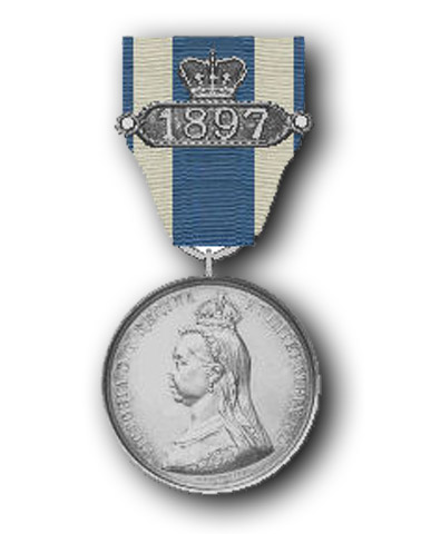 High quality official replica Queen Victoria Diamond Jubilee Medal (1897) for sale