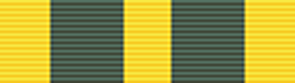 Queen's Volunteer Reserves Medal ribbon