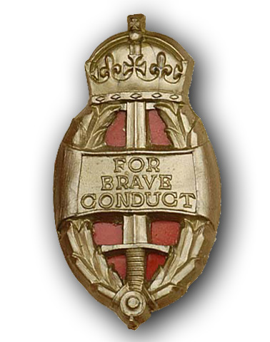High quality official replica King's / Queen's Commendation for Brave Conduct for sale