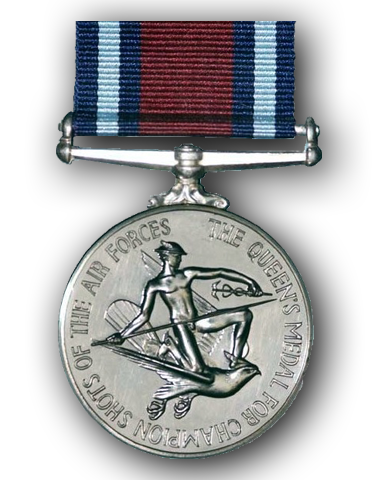 High quality official replica Queen's Medal for Champion Shots of the Air Forces for sale