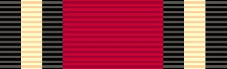 Queen's Medal (for Champion Shots in the Military Forces) ribbon