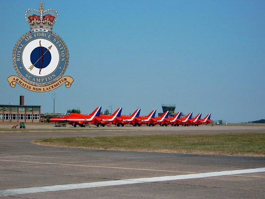 Red Arrows base RAF Scampton to be sold in Government cuts