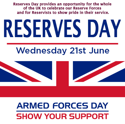 'Reserves Day' is being celebrated on Wednesday 21 June