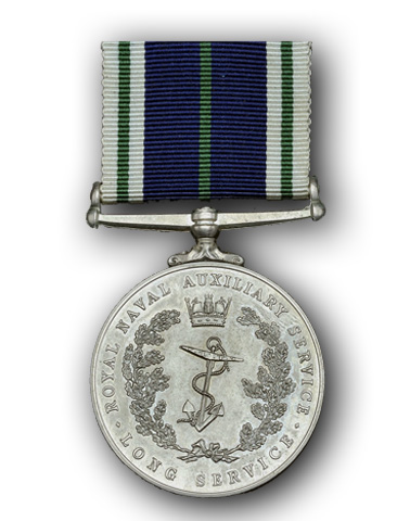 High quality official replica Royal Naval Auxiliary Service Long Service Medal for sale