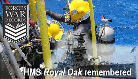 HMS Royal Oak Recieves Additional Memorials