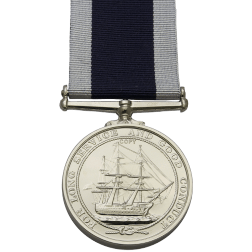 Naval Long Service and Good Conduct Medal (1830 & 1848)
