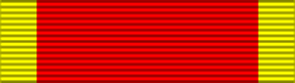 Second China War Medal ribbon