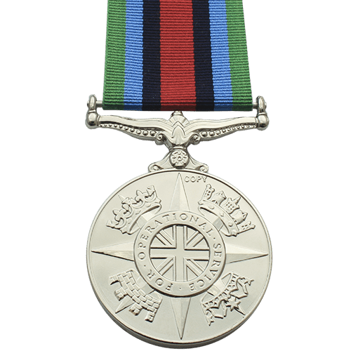 Operational Service Medal for Sierra Leone (2000)