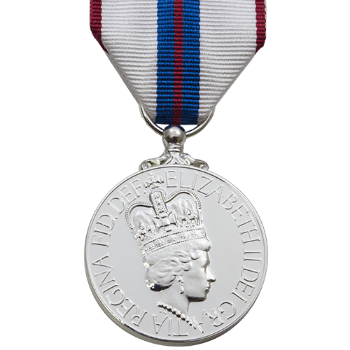 High quality official replica Queen Elizabeth II Silver Jubilee Medal (1977) for sale