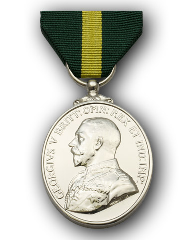 High quality official replica Territorial Force Efficiency Medal for sale