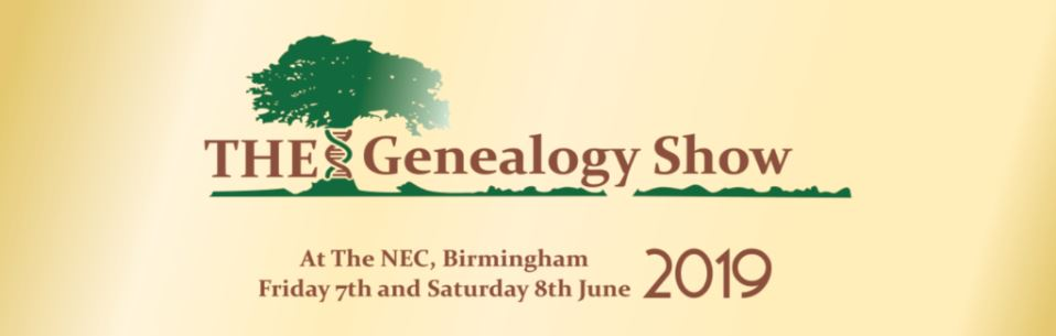 THE Genealogy Show - New 2019 Event