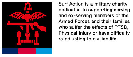 Surf Action is a military charity