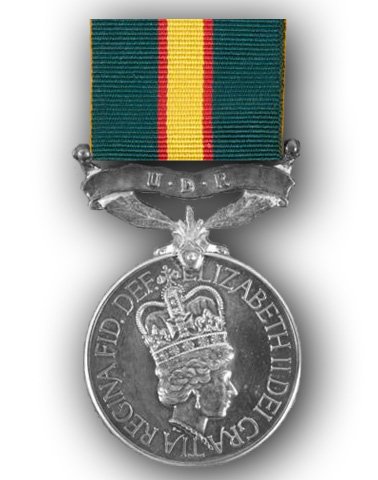 High quality official replica Ulster Defence Regiment Medal  for sale