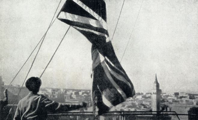 As the Union Jack was unfurled over the city of Tripoli it symbolised the end of Fascist rule not only in Libya but in the whole of Africa