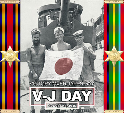 74th anniversary of V-J Day Victory in Japan day