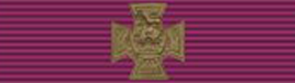Victoria Cross ribbon & bar