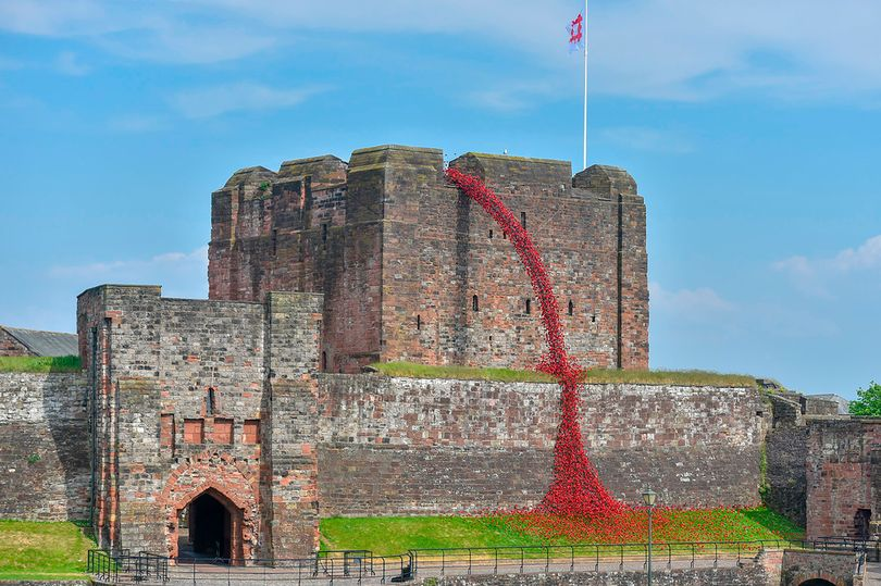 Weeping Window Carlisle Castle (image Credit Stuart Walker English Heritage)