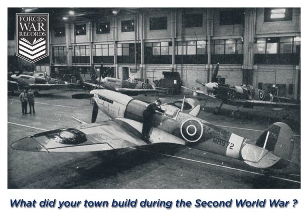 What did YOUR town build during the Second World War