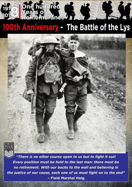 100th Anniversary of the Battle of the Lys