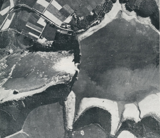 Breached Möhne Dam RAF bouncing bomb attack 17th May 1943