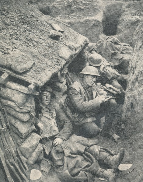 Canadian_letter_Shelter_trench_all_quiet