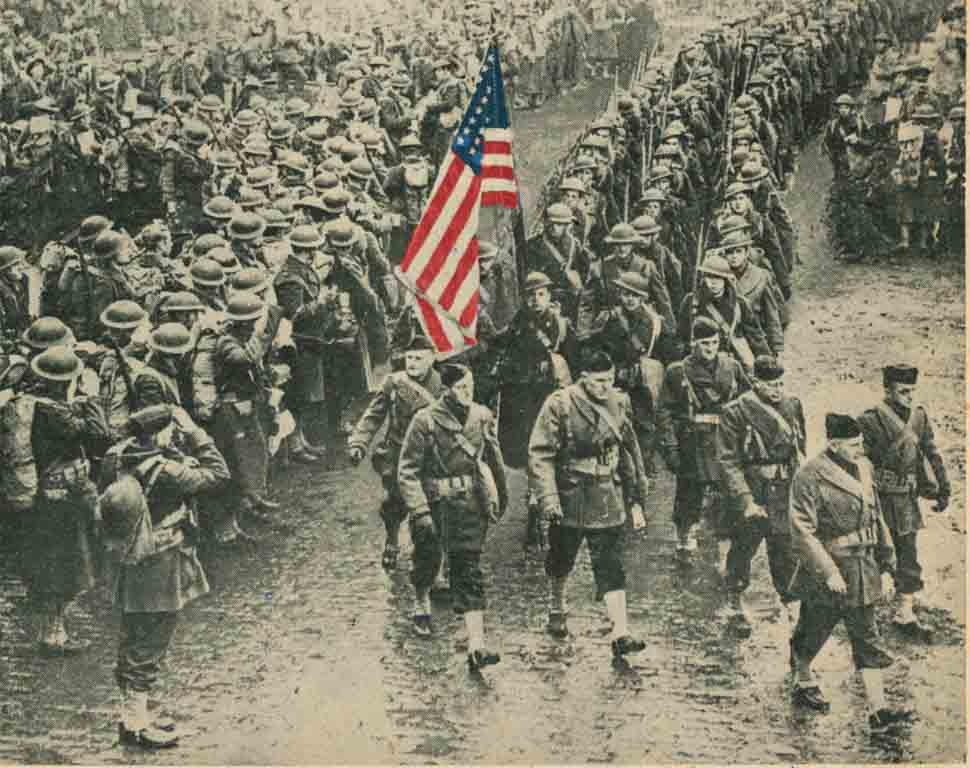 OnThisDay January 26, 1942 - American Soldiers Arrive in