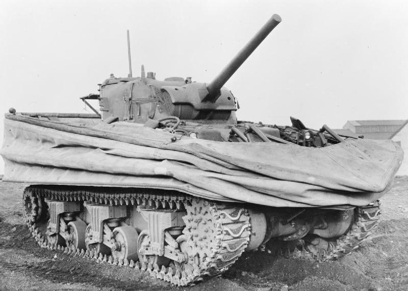 World War Two Sherman DD Tank