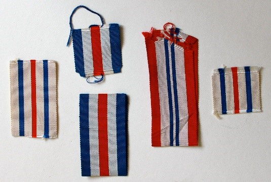 Figure 5 - WWII France and Germany ribbon possibilities