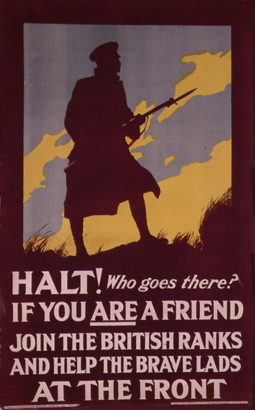 WW1 Recruitement Poster