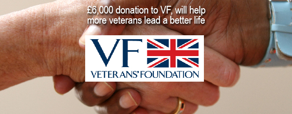Forces Reunited donates £6,000 to Veterans' Foundation