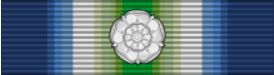 Medal ribbon with attached Rosette