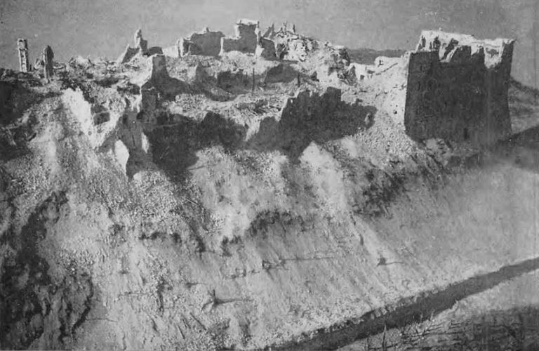 remnants of Monte Cassino after its capture by Polish troops on 18th may 1944