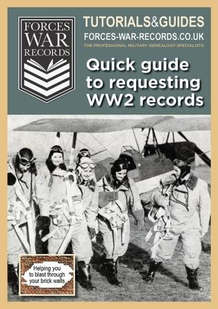 Tutorial - Quick guide to requesting WW2 records