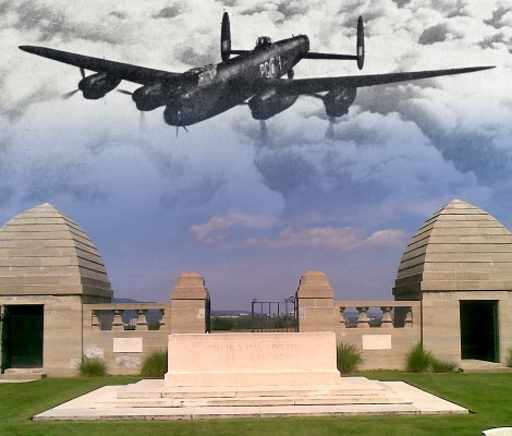 Service of rededication for the WWII crew of Lancaster
