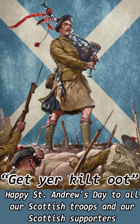 Happy St. Andrew's Day
