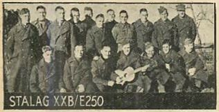Prisoner of War held in Stalag XXB - E250 working party detachment