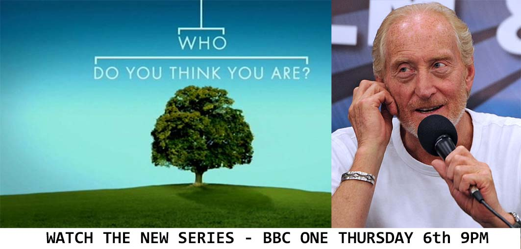 Who Do You Think You Are? Thursday 6th July BBC One 9pm