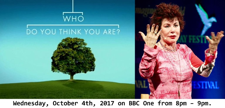 Ruby's family story is revealed in full on Who Do You Think You Are?  Wednesday, October 4th, 2017 on BBC One from 8pm – 9pm.