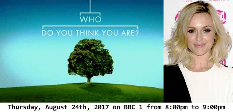 Fearne Wood explores her family history in a new BBC episode of Who Do You Think You Are?
