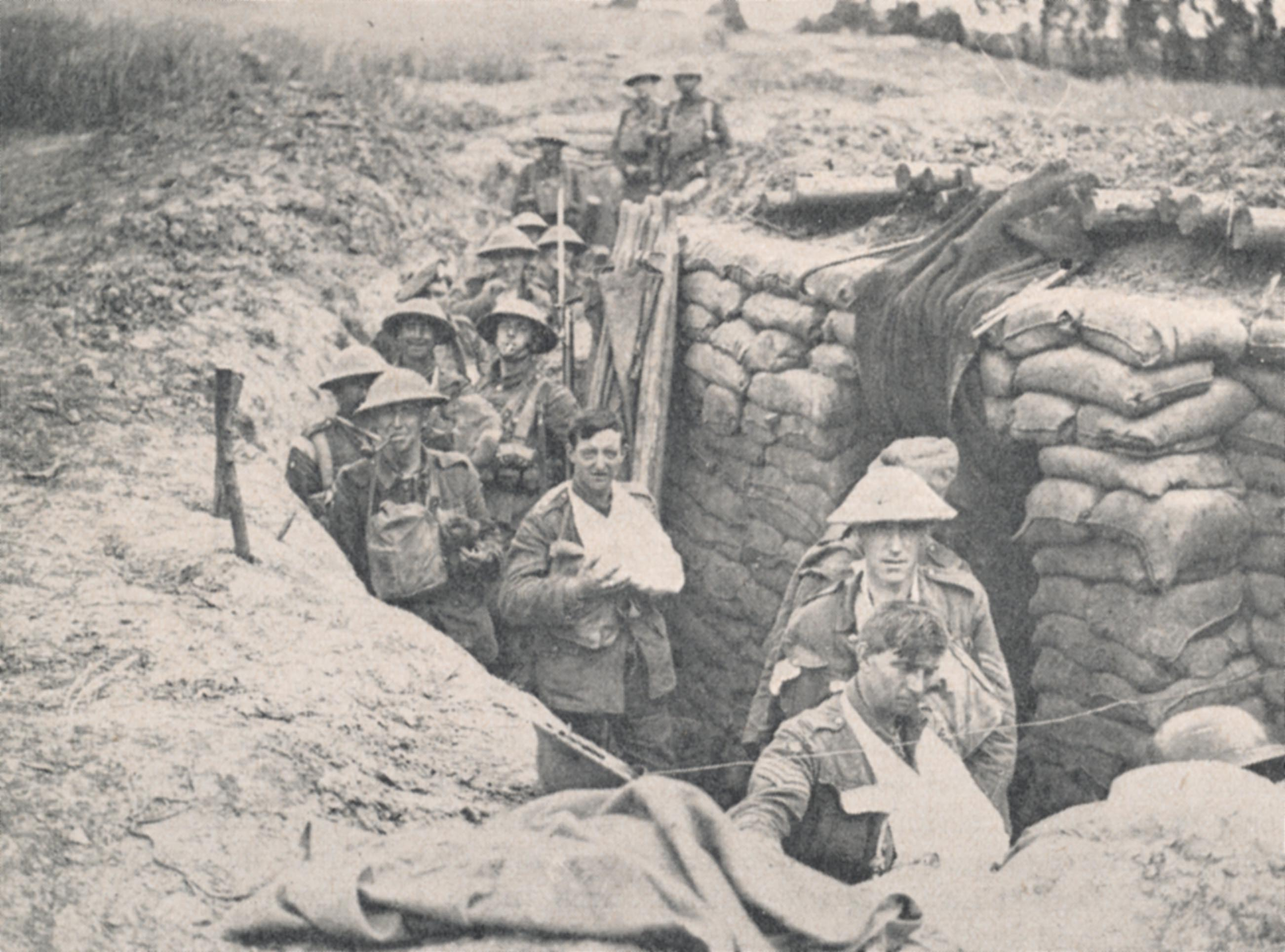 life in the trenches of ww1 The secret diaries of a first world war british army officer tell of life in the trenches, of rats and death and a longing to return home express home of the daily and sunday express.